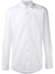 Transit Button Placket Shirt White