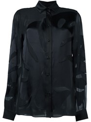 Maison Martin Margiela Sheer Effect Shirt Black