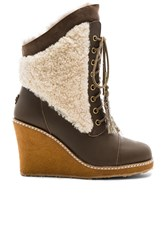 Australia Luxe Collective Meditere Sheep Shearling Boot Brown