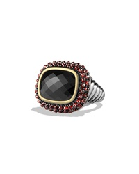 Osetra Ring With Black Onyx Garnet And Gold David Yurman