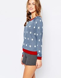 Minkpink Head In The Stars Pyjama Top Multicoloured