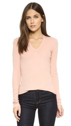 Wilt Long Sleeve Deep V Neck Tea