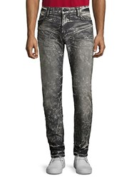 Robin's Jean Studded Washed Slim Fit Jeans 4 D Dark