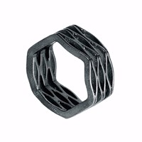 Neola Onda Sterling Dark Silver Ring