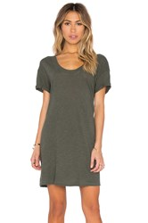 Lanston T Shirt Dress Green