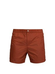 Solid And Striped The Weekend Swim Shorts Red