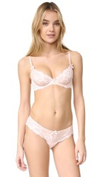 Agent Provocateur Cateline Balcony Bra Baby Pink