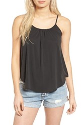 Soprano Women's Swing Camisole Charcoal