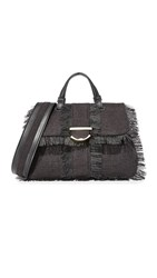 Cynthia Rowley Hudson Small Satchel Black