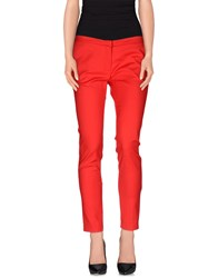 Ki6 Who Are You Trousers Casual Trousers Women Red