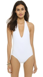 Rachel Pally Miranda Maillot One Piece White