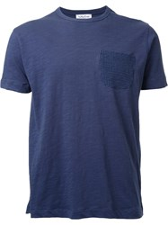 Ymc 'Mike Love' T Shirt Blue