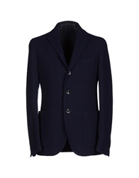 Couture Du Cuir Blazers Dark Blue