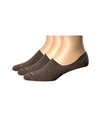 Feetures Hidden Socks 3 Pair Pack Taupe No Show Socks Shoes