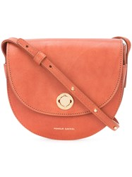 Mansur Gavriel Classic Saddle Bag Brown