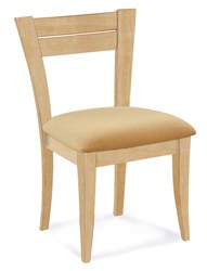 Saloom Furniture Model 39 Skyline Side Chair 39Su Natural Natural Impression Impression Beige