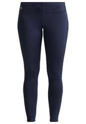 Lacoste Sport Tights Navy Blue Mango Tree Red Dark Blue