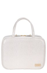 Stephanie Johnson Havana Traveler Cosmetics Case White