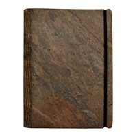 Bark And Rock Andes Stone Notebook Grey