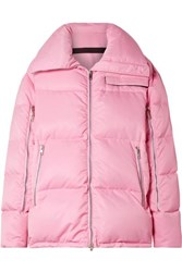 Calvin Klein 205W39nyc Oversized Quilted Shell Coat Baby Pink