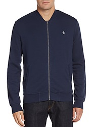 Original Penguin French Terry Track Jacket Dress Blue