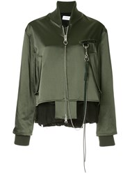 Song For The Mute Long Sleeved Jacket Green