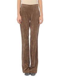 Diana Gallesi Casual Pants Khaki