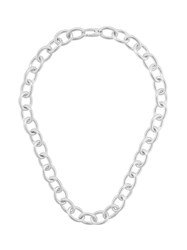 Isabel Lennse Chunky Chain Necklace Silver