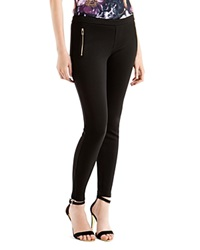 Ted Baker Eiley Zip Detail Leggings Black