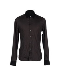 Gazzarrini Shirts Dark Brown