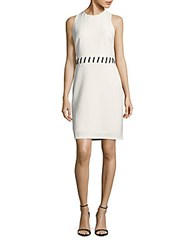 Saks Fifth Avenue Mystic Sleeveless Dress Oyster