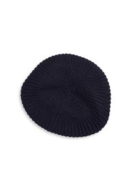 Echo Knit Cap Navy Blue