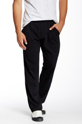 Alternative Apparel Lightweight French Terry Straight Pant Black