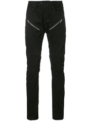 Prps Zipped Detail Skinny Jeans Black