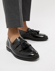 House Of Hounds Archer Loafers In Black