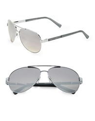 Vince Camuto 63Mm Aviator Sunglasses Silver