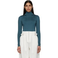 Givenchy Green 4G Turtleneck