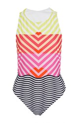 Salinas Striped Horizon One Piece Multi