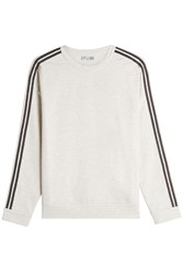 Brunello Cucinelli Cotton Sweatshirt With Bead Embellishment