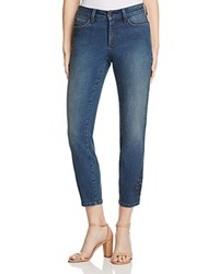 Nydj Alina Legging Embroidered Eyelet Ankle Jeans In Nottingham 100 Bloomingdale's Exclusive