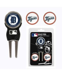 Team Golf Detroit Tigers Divot Tool And Markers Set Team Color