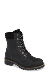Bos. And Co. Hero Waterproof Hiker Boot Black Leather