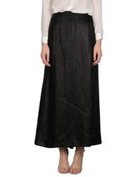 Peachoo Krejberg Skirts Long Skirts Women Black