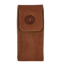Hodinkee Leather Watch Pouch Unisex Brown