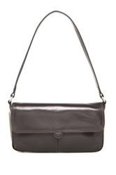 Hobo Giana Leather Handbag Gray