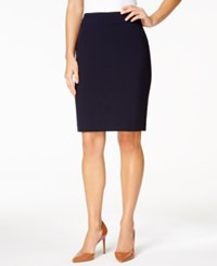 Nine West Pencil Skirt Navy