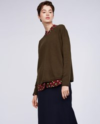 Aspesi Wool Sweater Green