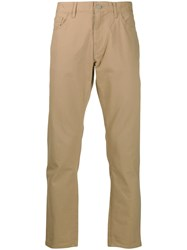 Michael Kors Straight Leg Chinos Neutrals