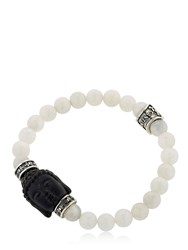 Cantini Mc Firenze Buddha Onyx And Moonstone Bracelet