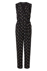 Sugarhill Boutique Mia Floral Jumpsuit Black